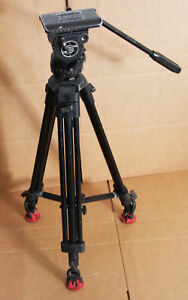 Sachtler DV6 SB Head w/ ENG 75/2D Aluminum Tripod Legs - Mid Spreader