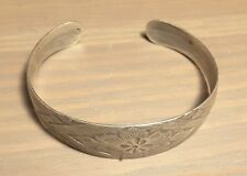Braccialino argento fine '800 7 grammi cm 5,3 x 4,7