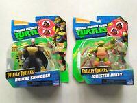 *NEW* TMNT BRUTAL SHREDDER and JOKESTER MIKEY, Totally Turtles