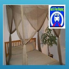Mosquito Net canopy for Bed Netting Functional Full Queen King (Brown) Bed Net