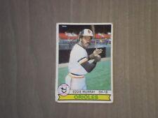 1979 TOPPS # 640 EDDIE MURRAY BALTIMORE ORIOLES BASEBALL CARD