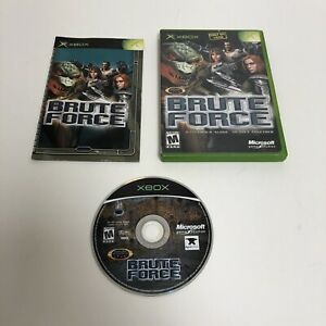 Brute Force Xbox Complete CIB Original Microsoft Tested