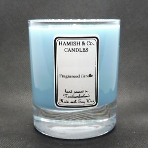 HC-M05 - cool water Like Aftershave - Personalised Soy Wax Candle - 20cl