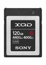 Genuine Sony G Series 120GB XQD Memory Card 440MB/s (UK Stock) BNIP