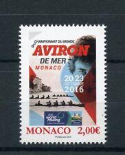 Monaco 2016 MNH World Rowing Coastal Championships 1v Set Sports Stamps