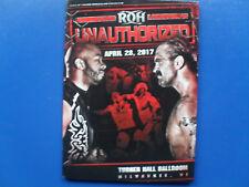 ROH - Unauthorized 2017 (1 DVD)