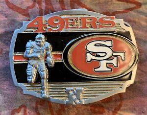 SAN FRANCISCO 49ERS PLAYER BELT BUCKLE NFL BUCKLES NEW