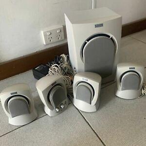 Altec Lansing AVS500 Computer 4 Speaker System With Subwoofer
