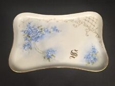 M&Z #1128 Porcelain Tray Dish Made In Austria Collectible