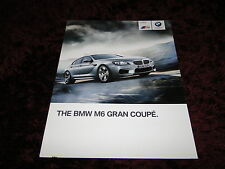 BMW M6 Gran Coupe Brochure 2014 - 2/2013 issue
