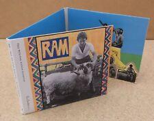 PAUL & LINDA MCCARTNEY Ram 2012 US promo remastered 2-CD + DVD set
