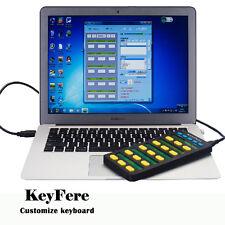 USB customized keyboard,user-defined Settings shortcuts,software stocks,KeyFere