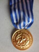 medaglia al merito di lungo comando Polizia Bronzo dorato
