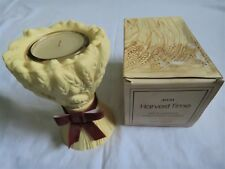 Collectible Vintage 1980 Avon Harvest Time Candle  Spice Garden Fragrance Candle
