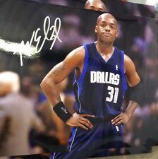 Nick Van Exel autograph signed 8 x 10 photo Mavericks NBA Gameday Hologram