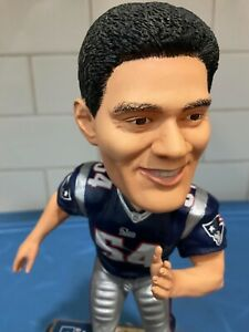 Forever Collectibles  -  New England Patriots Tedy Bruschi BobbleHead