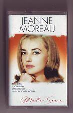 cassette audio jeanne Moreau - bon etat - Master serie 19 titres