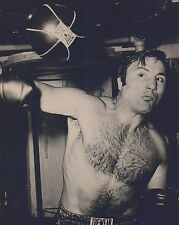 GEORGE CHUVALO 8X10 PHOTO BOXING PICTURE