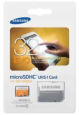 Samsung Evo 32GB MicroSD HC Class 10 UHS-1 Mobile Memory Card 32G MB-MP32DA