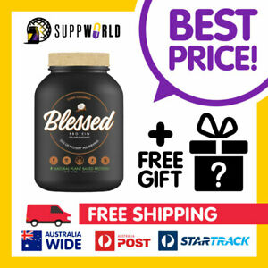 Clear Vegan Blessed Plant Based Natural Protein Powder | Vegan Plant EHPLabs