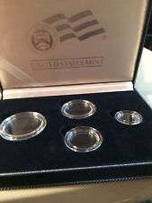 2006 BURNISHED PLATINUM 4 COIN SET  Uncirculated BOX,CAPSULES & COA MINT
