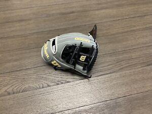 "New Wilson A2000 1786 11.5"" I Web Baseball Glove Gray Black"
