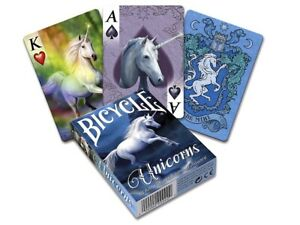 Bicycle Poker Stokes Unicorns Design Playing Cards Deck USP02476