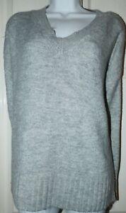 Primark size large L 14/16 grey jumper