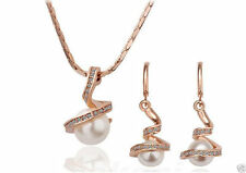 Unbranded Pearl Alloy Costume Jewellery Sets