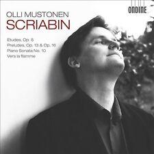 Scriabin: Etudes; Preludes; Piano Sonata No. 10; Vers la flamme (CD,...
