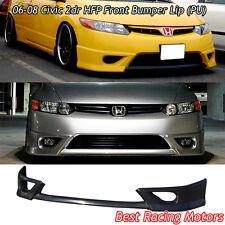 HFP Style Front Bumper Lip (Urethane) Fits 06-08 Honda Civic 2dr