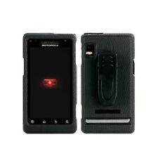 Body Glove Snap-on Hard Cover Case w BeltClip for Motorola Droid 2 Black