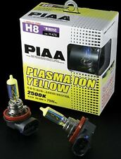 PIAA 18535 REPLACEMENT BULBS H8 PLASMA ION YELLOW 35W=70W, TWIN PACK