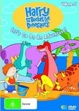 Harry And His Bucket Full Of Dinosaurs : Vol 5 (DVD, 2007)