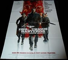 2009 Inglourious Bastards ORIGINAL FRENCH POSTER Quentin Tarantino Brad Pitt