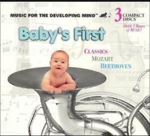 Baby's First Classics Music For The Developing Mind - CD Compact Disc - 3 CD SET