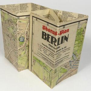 "Berlin City Street Map 1942 - 24x36"" Germany Capital Neukolln Wilmersdorf Mitte"