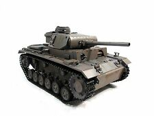 Complete Metal 1/16 Mato Panzer III RTR Ver Infrared RC Tank Grey Color 1223