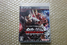 Tekken Tag Tournament 2 PS3 Region Free Sony Playstation3 Japan