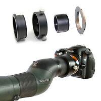 Nikon F camera adapter for Swarovski Spotting Scope ATM STM HD 20-60x eyepiece