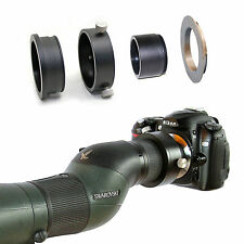 Nikon F camera adapter for Swarovski Spotting Scope ATM STM HD 20-60x eyepiece
