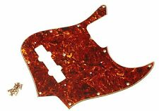 Aged Real Celluloid 62 JB Pickguard 4 Ply Montreux Retrovibe fits to Jazz Bass ®