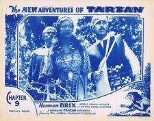 NEW ADVENTURES OF TARZAN 1935 Herman Brix Chapter 9 VINTAGE SERIAL Lobby Card 3