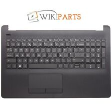 FOR HP Compaq HP 15-BS635TX Black Palmrest Touchpad Cover UK Keyboard