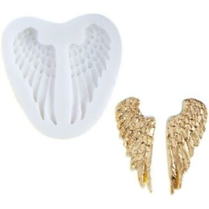 Angel Wings Silicone Mould Fairy Baby 3D Sugarcraft Cake Icing Chocolate Decor