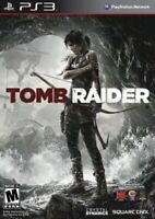 Tomb Raider - 2013 Square Enix - Rated Mature - Sony PlayStation 3 PS3