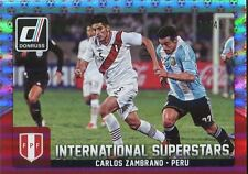 Donruss SOCCER 2015 ROSSO [49] INT. SUPERSTARS Chase Card #78 CARLOS Zambrano