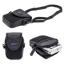 Carry Case for Compact Digital Camera Point and Shoot Cameras up to 11.5x7x3 cm
