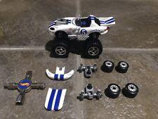1997 Mattel Hot Wheels 1:43 Scale Mechanix White Dodge Viper RT/10 (Loose/READ)