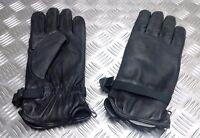 Genuine British Military Soldier 95 Black Leather Combat Gloves MVP- Assorted
